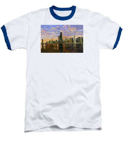 Chicago Baseball T-Shirt by Mike Rabe