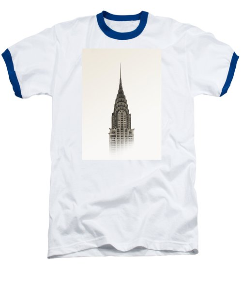 Chrysler Building - Nyc Baseball T-Shirt by Nicklas Gustafsson
