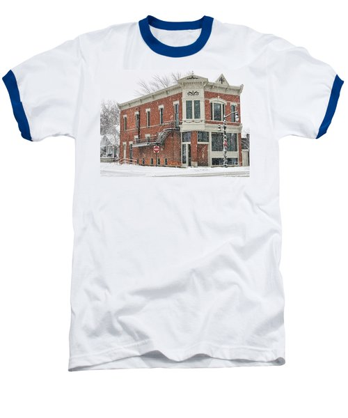 Downtown Whitehouse  7031 Baseball T-Shirt by Jack Schultz