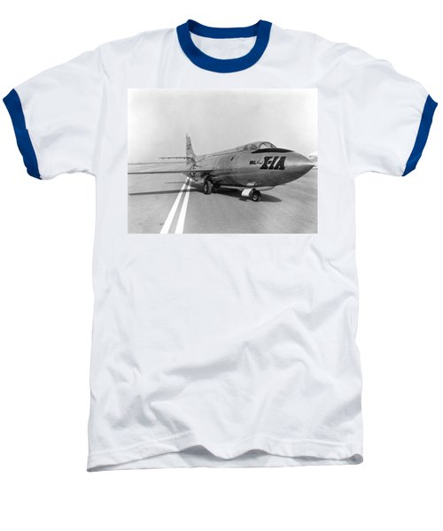 Baseball T-Shirt featuring the photograph First Supersonic Aircraft, Bell X-1 by Science Source
