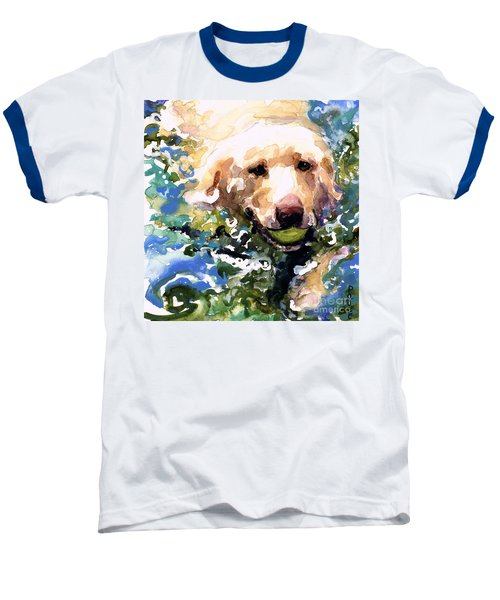 Head Above Water Baseball T-Shirt by Molly Poole