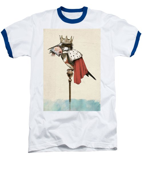 Kingfisher Baseball T-Shirt by Eric Fan