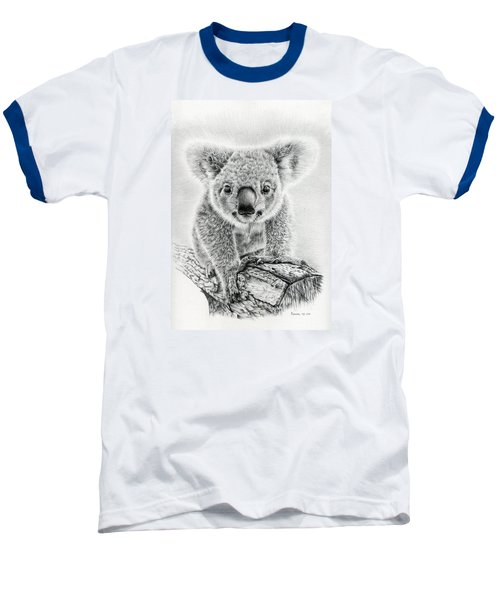 Koala Oxley Twinkles Baseball T-Shirt by Remrov