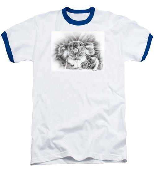 Koala Roto Princess Baseball T-Shirt by Remrov