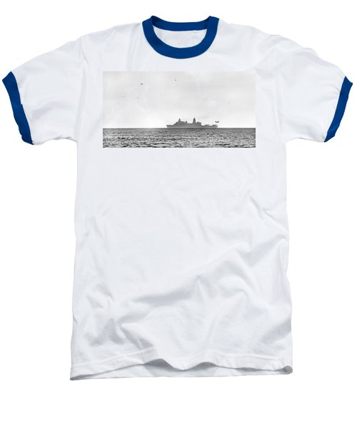Landing On The Horizon Baseball T-Shirt by Betsy C Knapp
