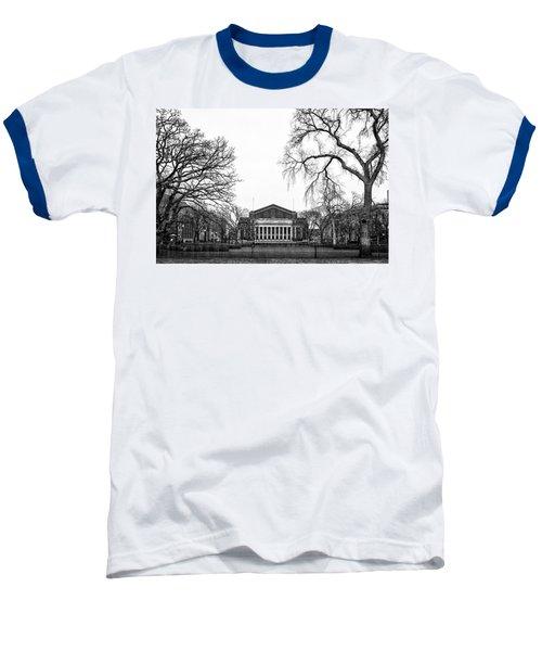 Northrop Auditorium At The University Of Minnesota Baseball T-Shirt by Tom Gort