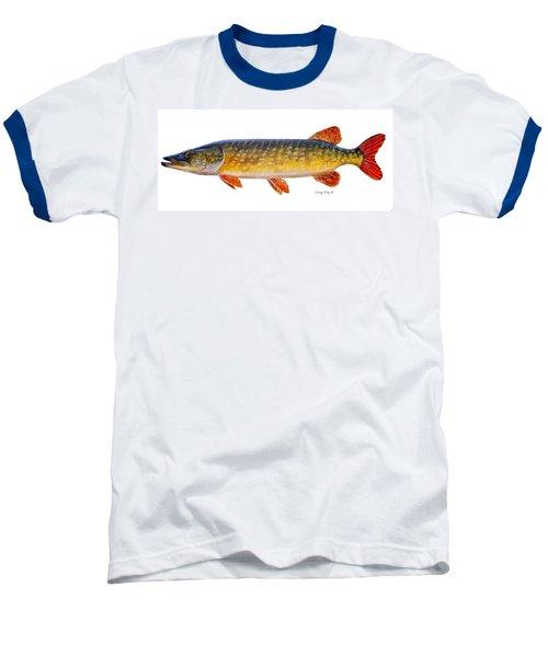 Pike Baseball T-Shirt by Carey Chen