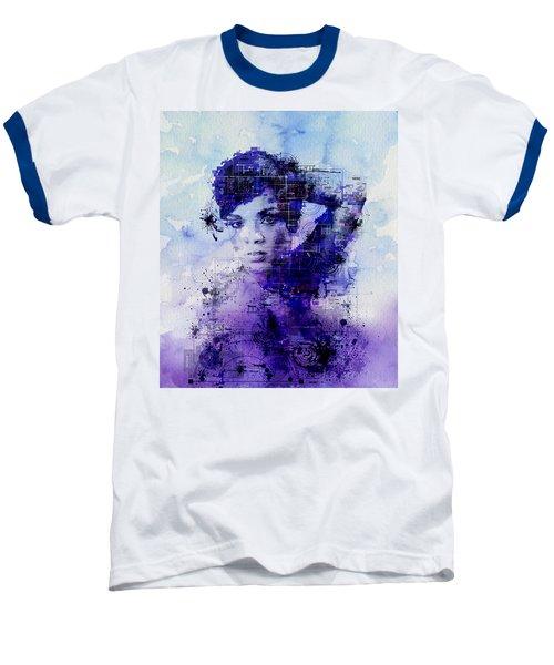Rihanna 2 Baseball T-Shirt by Bekim Art