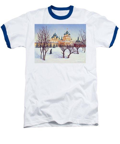 Russian Winter Baseball T-Shirt by Tilly Willis