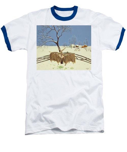 Spring In Winter Baseball T-Shirt by Magdolna Ban