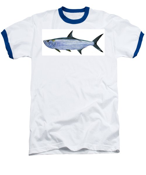 Tarpon Baseball T-Shirt by Carey Chen