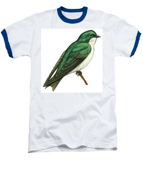 Tree Swallow  Baseball T-Shirt by Anonymous