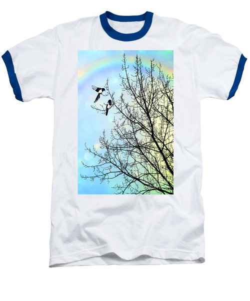 Two For Joy Baseball T-Shirt by John Edwards