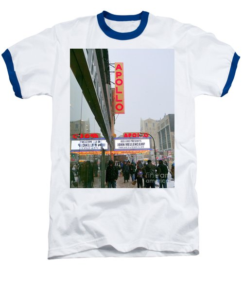 Wintry Day At The Apollo Baseball T-Shirt by Ed Weidman