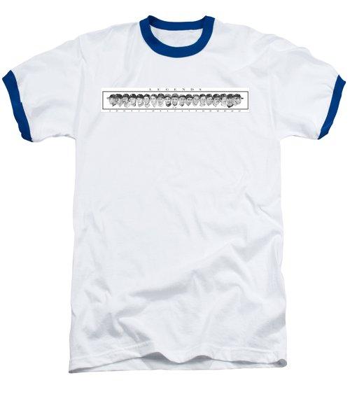 Yankees Baseball T-Shirt by Tamir Barkan