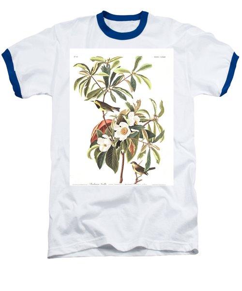 Bachman's Warbler  Baseball T-Shirt by John James Audubon