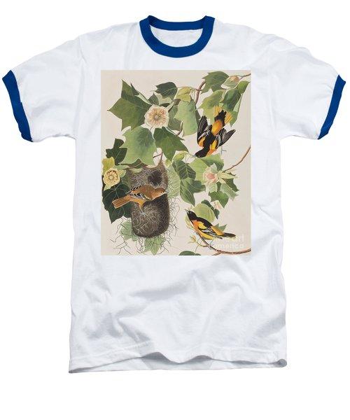 Baltimore Oriole Baseball T-Shirt by John James Audubon