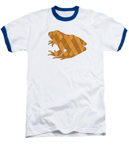 Frog Baseball T-Shirt by Mordax Furittus