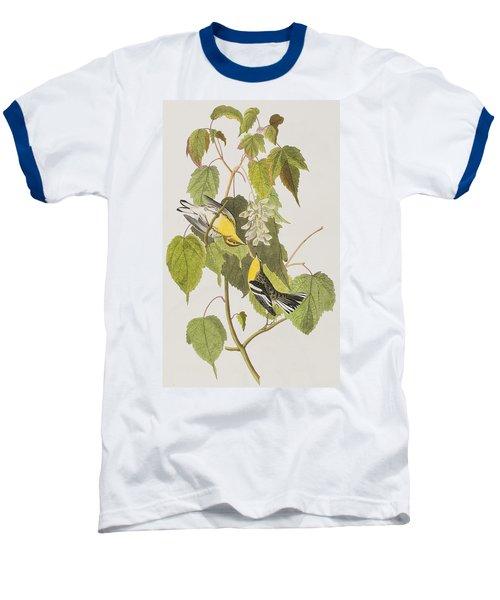 Hemlock Warbler Baseball T-Shirt by John James Audubon
