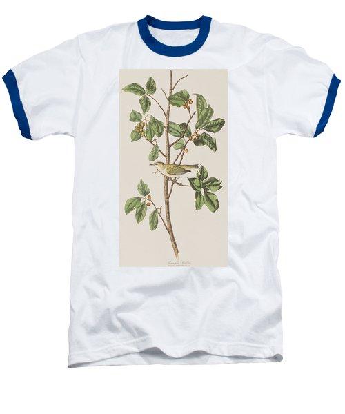 Tennessee Warbler Baseball T-Shirt by John James Audubon
