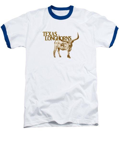 Texas Longhorns Baseball T-Shirt by Priscilla Burgers