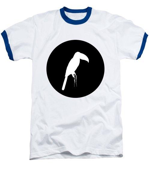 Toucan Baseball T-Shirt by Mordax Furittus