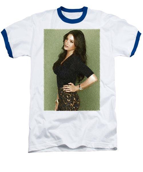 Celebrity Sofia Vergara  Baseball T-Shirt by Best Actors