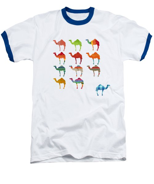 Camels Baseball T-Shirt by Art Spectrum