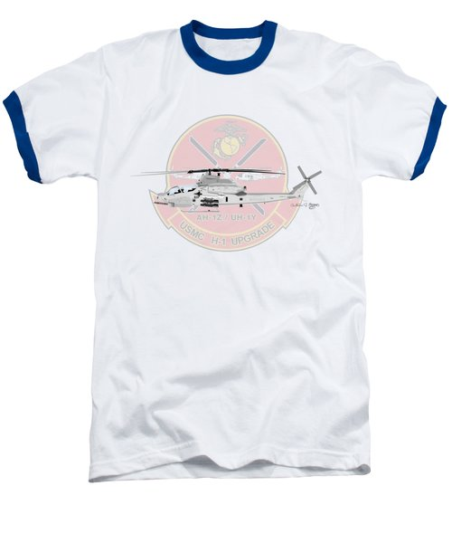 H-1 Upgrade Baseball T-Shirt by Arthur Eggers