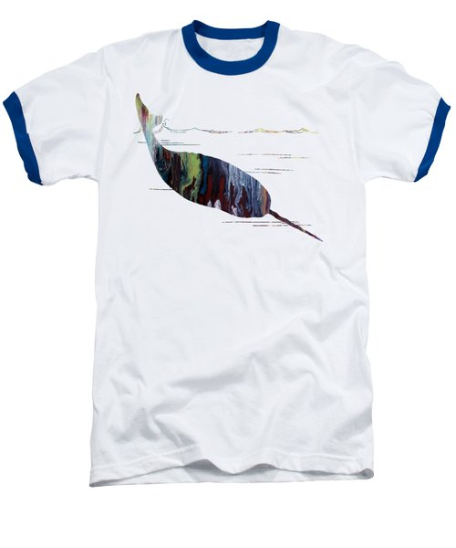 Narwhal Baseball T-Shirt by Mordax Furittus