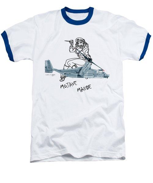 Bell Boeing Cv-22b Osprey Mojave Maude Baseball T-Shirt by Arthur Eggers
