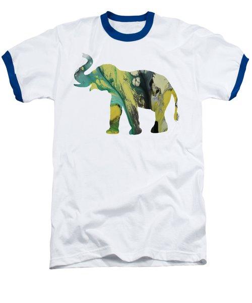 Elephant Baseball T-Shirt by Mordax Furittus