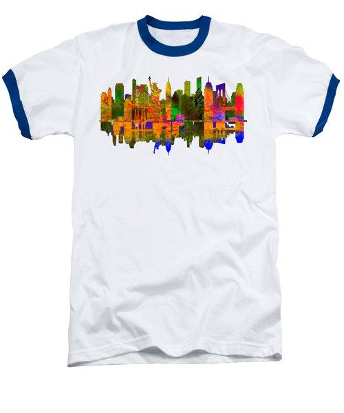 New York Baseball T-Shirt by John Groves