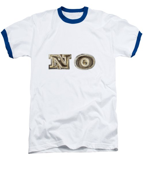 A Simple No Baseball T-Shirt by YoPedro