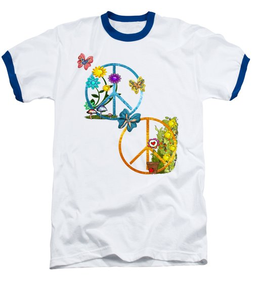 A Very Hippy Day Whimsical Fantasy Baseball T-Shirt by Sharon and Renee Lozen