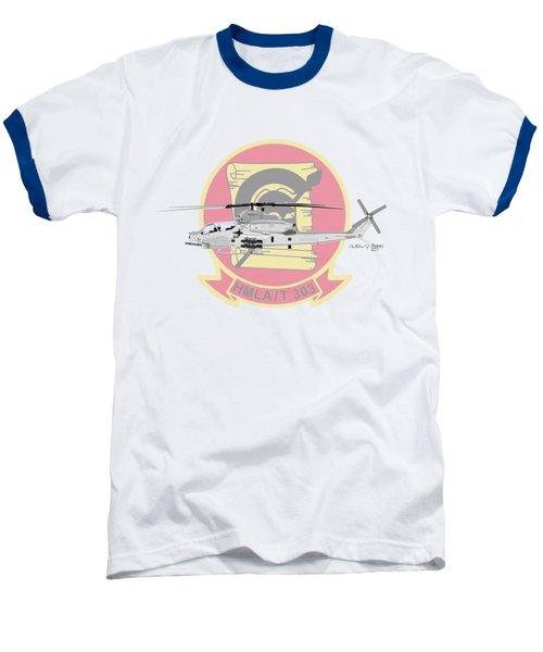 Ah-1z Viper Baseball T-Shirt by Arthur Eggers