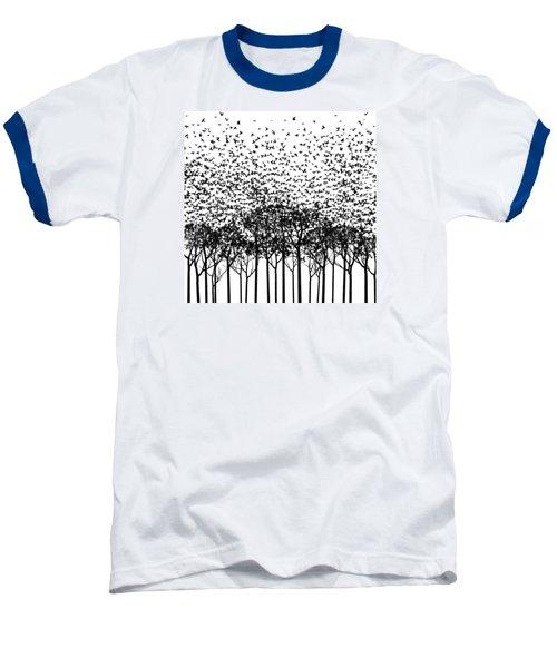 Aki Monochrome Baseball T-Shirt by Cynthia Decker