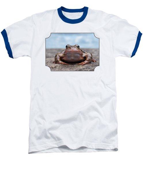 Leaving Home Baseball T-Shirt by Gill Billington