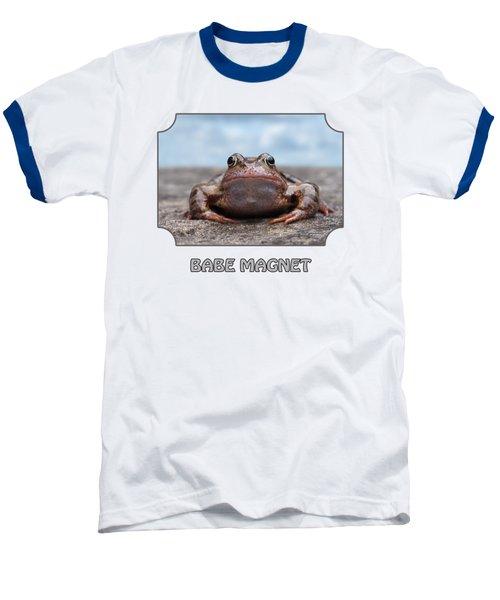 Babe Magnet - Blues Baseball T-Shirt by Gill Billington