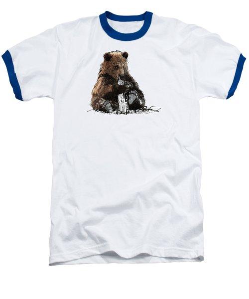 Bear Loves Ny Baseball T-Shirt by Devlin