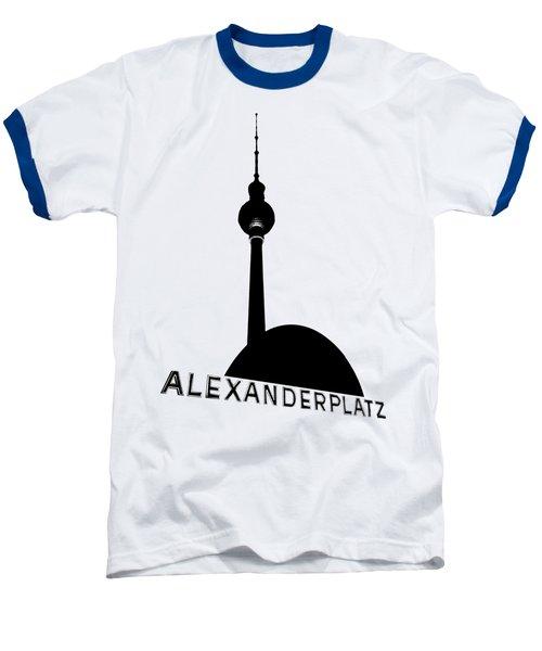 Berlin Alexanderplatz Baseball T-Shirt by Julie Woodhouse