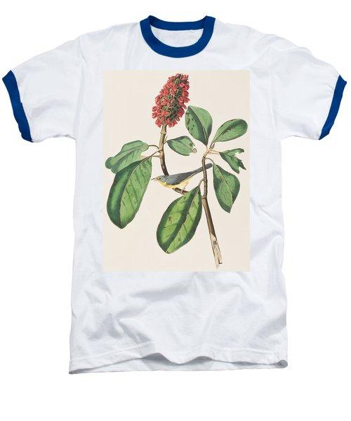 Bonaparte's Flycatcher Baseball T-Shirt by John James Audubon