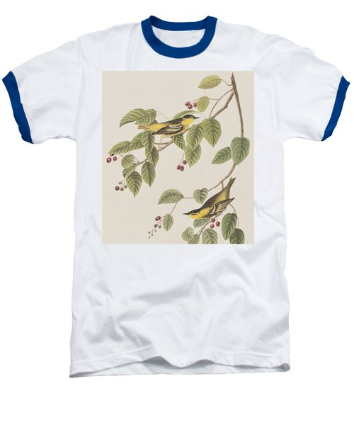 Carbonated Warbler Baseball T-Shirt by John James Audubon
