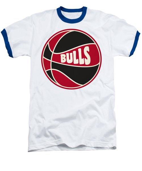Chicago Bulls Retro Shirt Baseball T-Shirt by Joe Hamilton