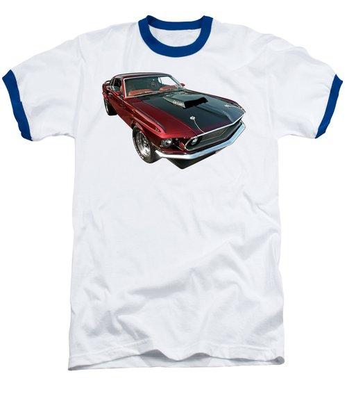 Coz I Can  Baseball T-Shirt by Gill Billington