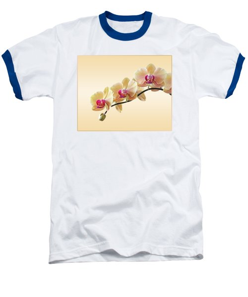 Cream Delight Baseball T-Shirt by Gill Billington