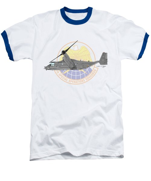 Cv-22b Osprey 7sos Baseball T-Shirt by Arthur Eggers