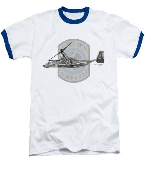 Cv-22b Osprey 8sos Baseball T-Shirt by Arthur Eggers