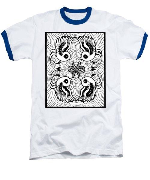 Da Boids Baseball T-Shirt by Vicki Von Doom