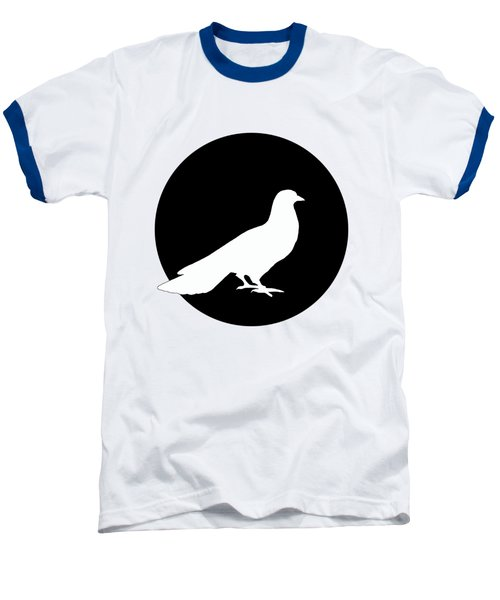 Dove Baseball T-Shirt by Mordax Furittus